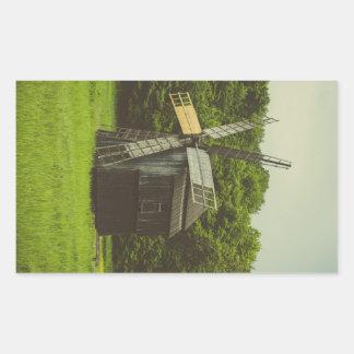 Windmill, Village Museum,Sibiu Sticker