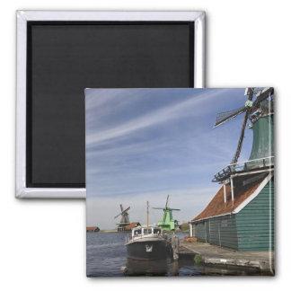 Windmill, Zaanse Schans, Holland, Netherlands Magnet