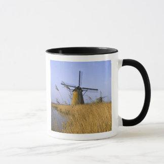 Windmills along the canal in Kinderdijk, 2 Mug