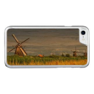 Windmills in Kinderdijk, Holland, Netherlands Carved iPhone 8/7 Case
