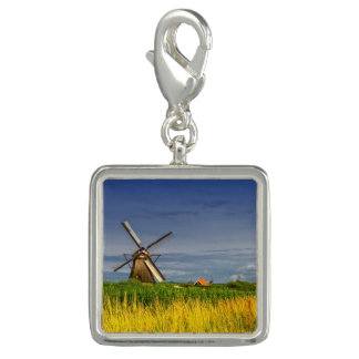 Windmills in Kinderdijk, Holland, Netherlands Charms