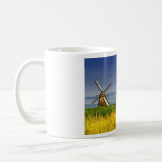 Windmills in Kinderdijk, Holland, Netherlands Coffee Mug