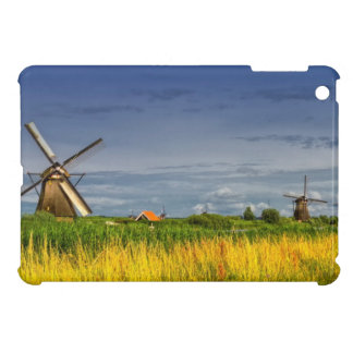 Windmills in Kinderdijk, Holland, Netherlands iPad Mini Cover