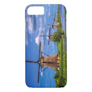 Windmills in Kinderdijk, Holland, Netherlands iPhone 7 Case