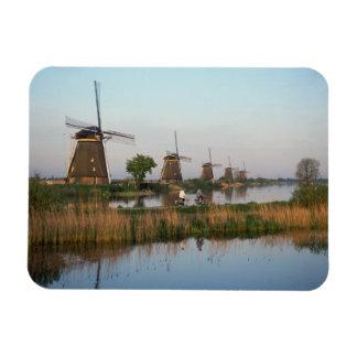 Windmills, Kinderdijk, Netherlands Magnet