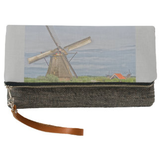 windmills of Kinderdijk world heritage site Clutch