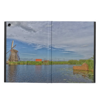 windmills of Kinderdijk world heritage site Cover For iPad Air