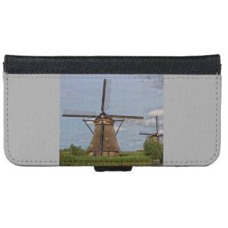 windmills of Kinderdijk world heritage site iPhone 6 Wallet Case