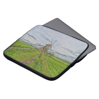 windmills of Kinderdijk world heritage site Laptop Sleeve