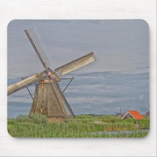 windmills of Kinderdijk world heritage site Mouse Pad