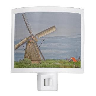 windmills of Kinderdijk world heritage site Night Lights