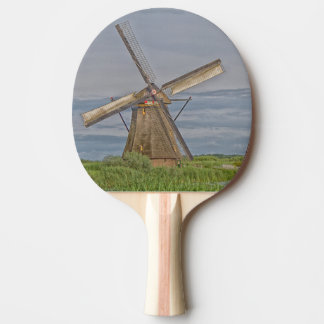 windmills of Kinderdijk world heritage site Ping-Pong Paddle