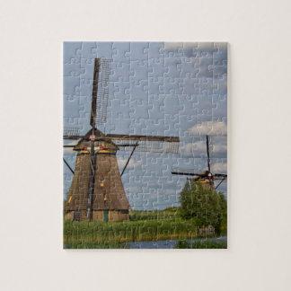 windmills of Kinderdijk world heritage site Puzzles