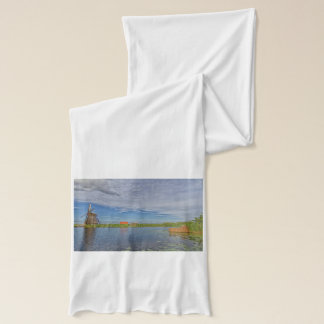 windmills of Kinderdijk world heritage site Scarf