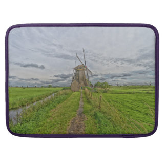 windmills of Kinderdijk world heritage site Sleeve For MacBooks