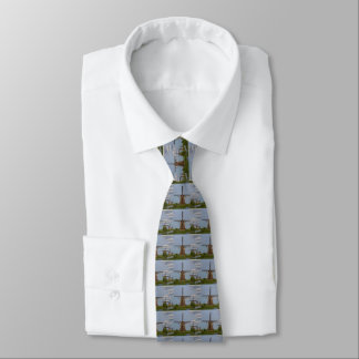 windmills of Kinderdijk world heritage site Tie