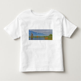 windmills of Kinderdijk world heritage site Toddler T-shirt