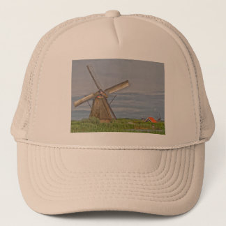 windmills of Kinderdijk world heritage site Trucker Hat