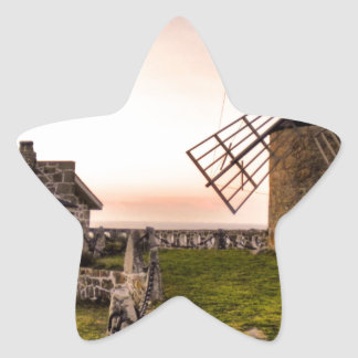 Windmills of Montedor Star Sticker