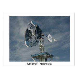 Windmills Post Card