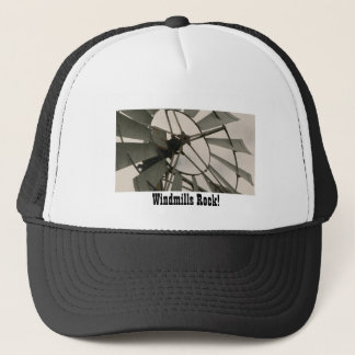 Windmills Rock! Trucker Hat