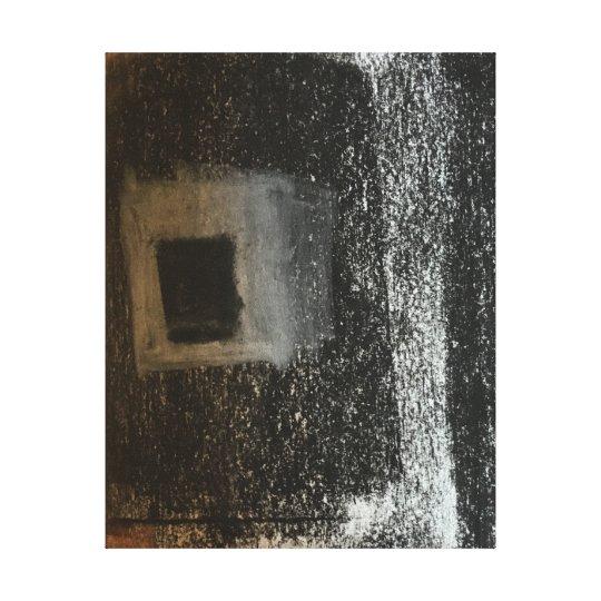 window #1 canvas print