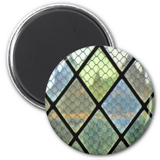 Window Art 2 Inch Round Magnet