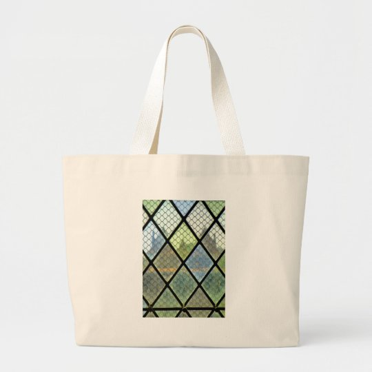 Window Art Large Tote Bag