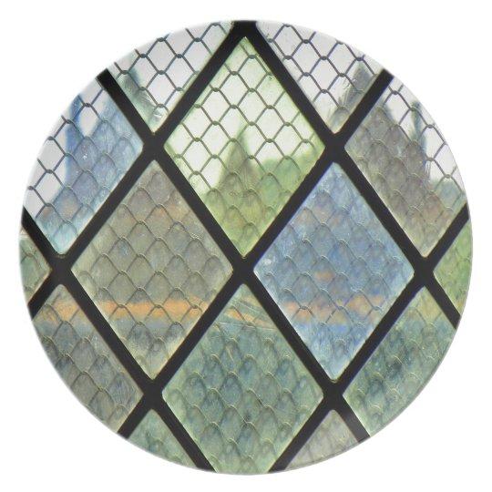 Window Art Party Plate