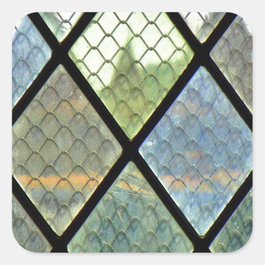 Window Art Square Sticker