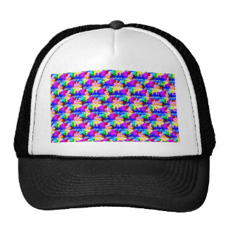 window butterfly stereogram trucker hat