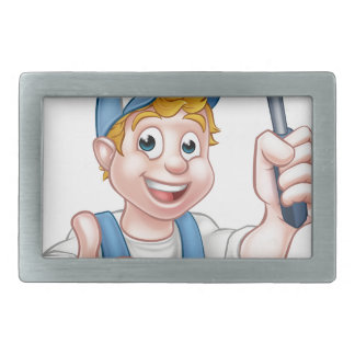Window Cleaner Holding Squeegee Belt Buckles