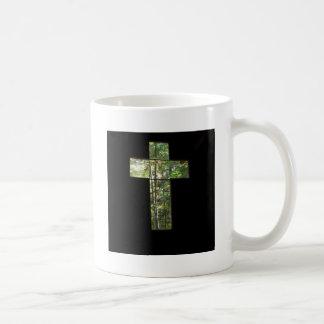 Window Cross Coffee Mug