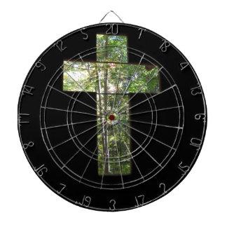 Window Cross Dartboard