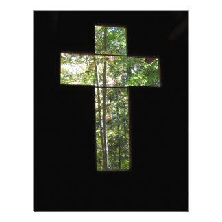 Window Cross Letterhead