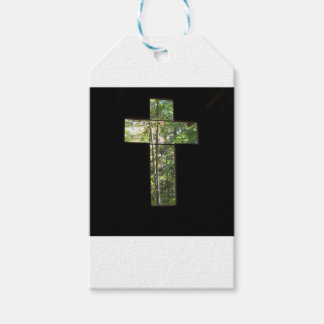 Window Cross Pack Of Gift Tags