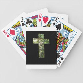 Window Cross Poker Deck