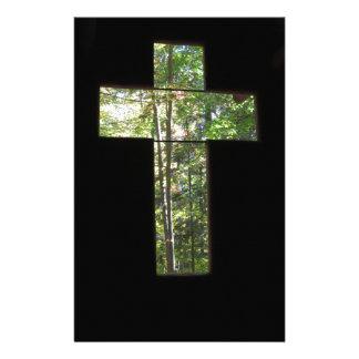 Window Cross Stationery