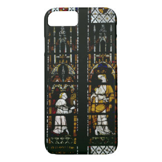 Window depicting the Virgin and Raoul de Ferrieres iPhone 7 Case