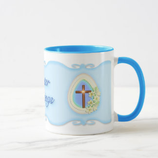 Window Egg and Cross Mug