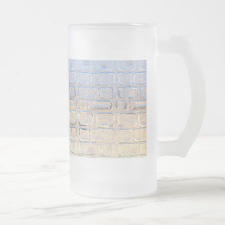 Window Frosted Glass Beer Mug
