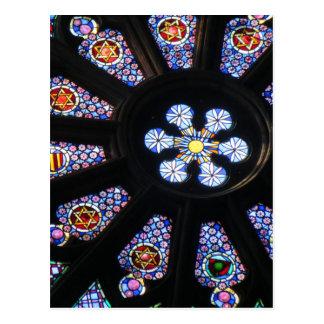 Window in Barcelona Postcard
