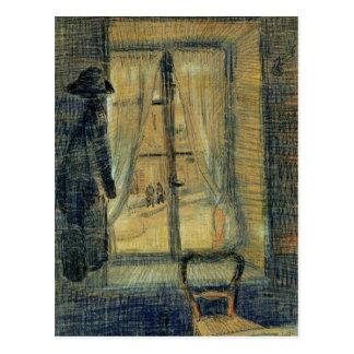 Window in the Bataille Restaurant by van Gogh Postcard