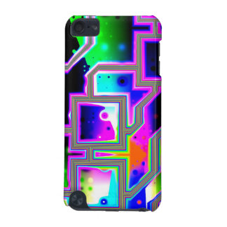 Window into the Universe– Magenta & Cyan Intersect iPod Touch 5G Cases