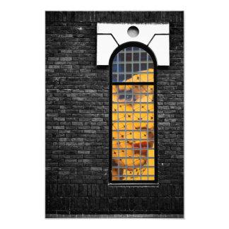 Window kisses photo print