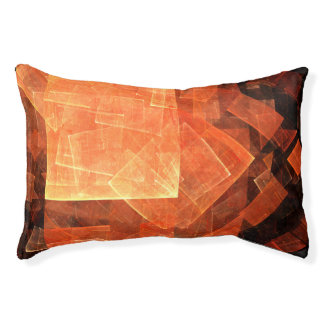 Window Light Abstract Art Pet Bed