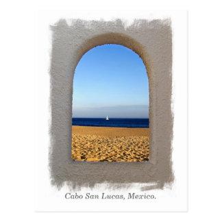 Window On The Beach Postcard