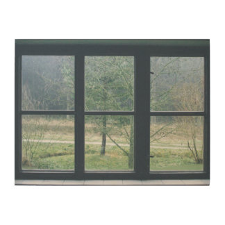 Window On The World Wood Wall Art