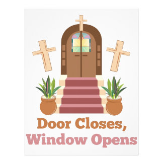 Window Opens Letterhead