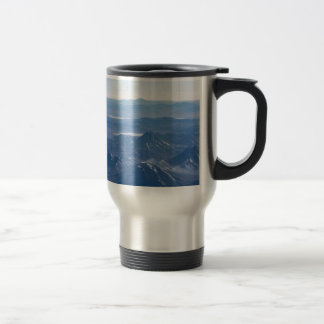 Window Plane View of Andes Mountains Travel Mug